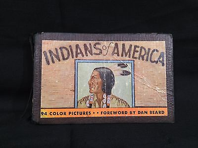 "1935 ""Indians of America"" by Lillian Davids Fazzini --94 Color Pictures."
