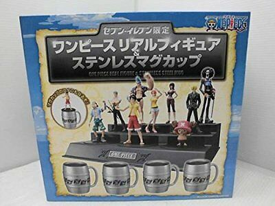 Seven-Eleven One Piece Real Figure stainless mug cup each shop limited 5 New
