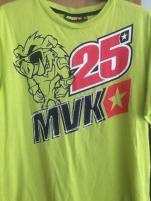 Maverick Vinales Motogp Yamaha Official T Shirt By Vr46 Superbikes Suzuki