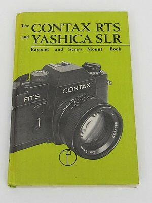 The Contax RTS and Yashica SLR Camera Book - 136 Pages