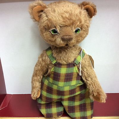 Ooak Artist Bear Jointed Mohair Bear  Oliver By Iry Bears New Now Reduced