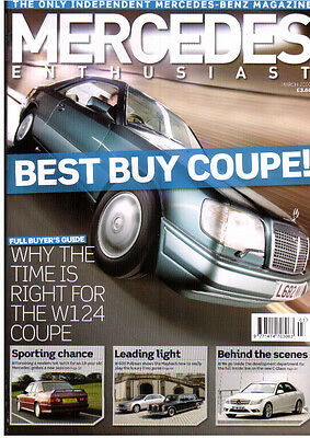 Mercedes Enthusiast March 07  W124 Coupe/Cabriolet Buyers Guide ML63 AMG