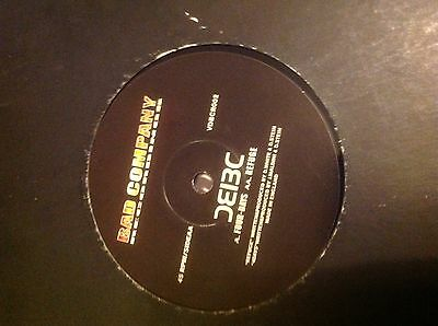 "Bad Company - The Fear EP 2x12"" Vinyl Drum and Bass BC recordings four days"