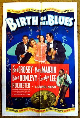 """""""BIRTH OF THE BLUES""""  Strike Up The Band of Happiness with Bing Crosby - poster"""