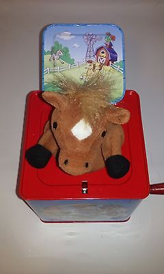 Schylling Pop Up Horse Toy