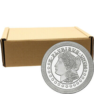 Morgan Dollar Stackables by SilverTowne 1oz .999 Silver Medallion (500pc)