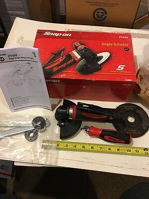 "NEW Snap On Tools PT450 4-1/2"" Angle Grinder 12000 RPM 1 HP"