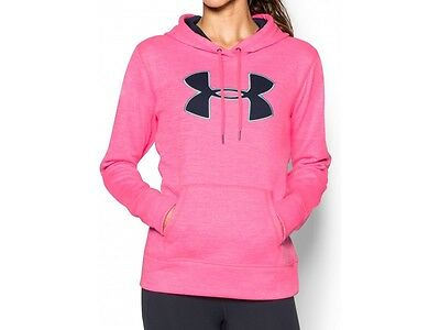Under Armour Storm Womens Fleeced Lined Soft Running Gym Top Jersey Hoodie Hoody