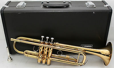 YAMAHA YTR-2335 Bb TRUMPET w/ Case & Mouthpiece NICE Horn!  Free Shipping US 48
