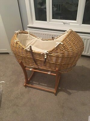 Mothercare Wicker Moses Basket