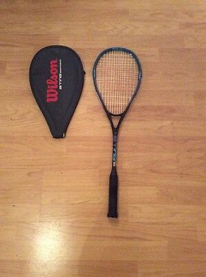 Wilson Sting Squash Racket sting 350 graphite composite Large Head
