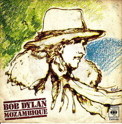 """7"""" BOB DYLAN mozambique / oh sister (oh hermana) SINGLE 45 PS SPANISH 1976"""
