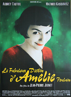 2 Amelie posters - 47 x 63 inch A + B posters