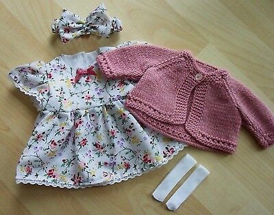 Brand New My First Baby Annabell/Little Baby Born 4 Piece Clothing Set (6)