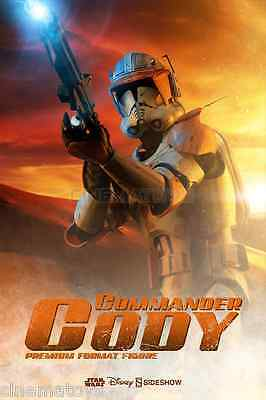 STAR WARS Commander Cody Premium Format Figure by Sideshow Collectibles Statue