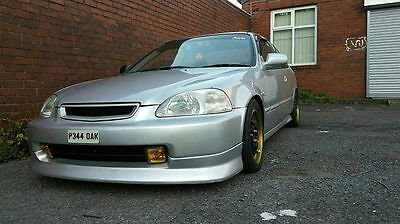 Jap Style Honda Civic Ek 96-98 Chargespeed Style Front Lip Poly Pre Facelift