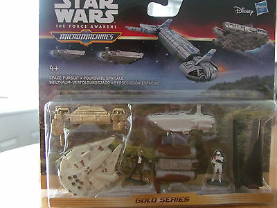 Micromachines Star Wars The Force Awakens Gold Series Play Set. New. #2