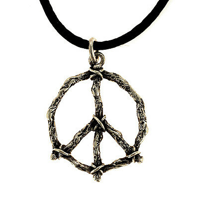 TAXCO 925 PEACE SYMBOL PENDANT | Mexico Sterling Silver Jewelry