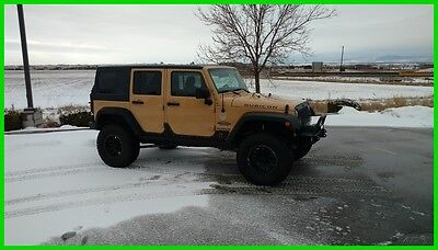 2014 Jeep Wrangler Rubicon Unlimited 4X4 2014 Jeep Wrangler Unlimited 4X4