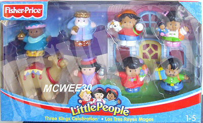 BNIB 2005 Fisher Price Little People THREE KINGS CELEBRATION - ONE SET ONLY!!