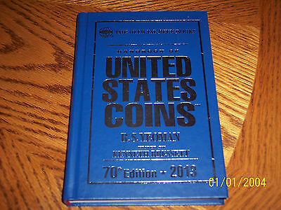 The Official Blue Book 2013 ~ Handbook of United States Coins Hardcover
