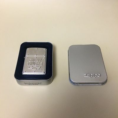 Zippo Chevrolet Chevy Truck BOLTS Lighter NEVER USED