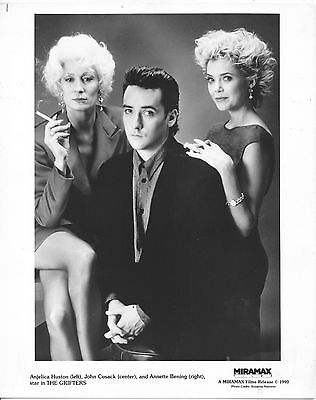 Anjelica Huston/john Cusack/annette Bening/8X10 Original Photo  Cc16655  1-167