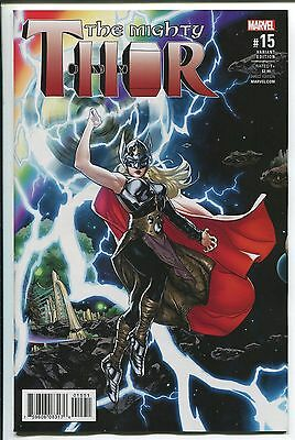 Mighty Thor #15 Ryan Sook Variant Cover - Marvel Comics/2017 - 1/25
