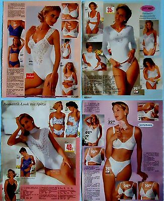 Women's Underwear Bra Panties Corset Catalog Clippings Ad Print 51 pages