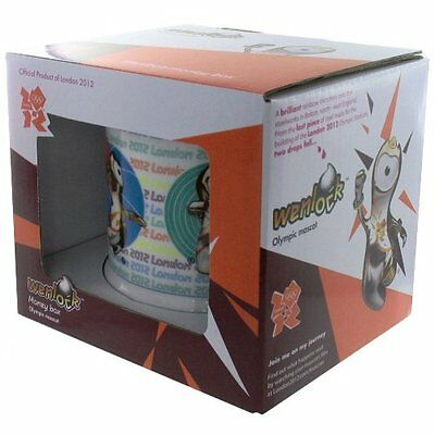 Official London 2012 Olympic and Paralympic Games Wenlock Mascot Money Box