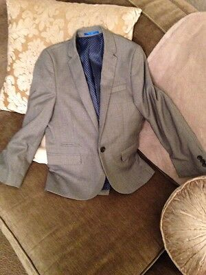 Boys Next Suit Jacket Grey Age 10 Years