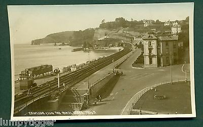 DAWLISH FROM THE ROYAL HOTEL,CHAPMAN 17643,JULY 1931, vintage postcard