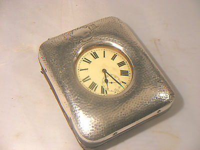 Antique Goliath Pocket Watch With Solid Silver Carry Display Case