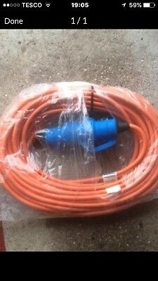 Camping Caravan 230V Extension Cable Lead  Electric Main Power