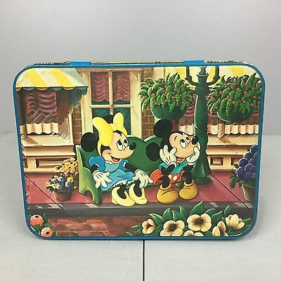 Vintage Disney Parks Animated Collectors Tin Mickey Mouse Hudson-Scott & Sons