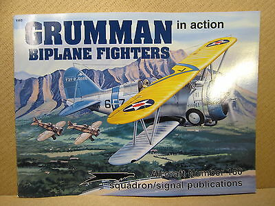Squadron-Signal N°160 Grumman biplane fighters in action