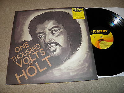 One thousand volts of Holt - John Holt - Sunspot  LP014  - Heavy weight vinyl