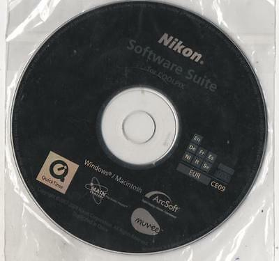 Nikon Software Suite For Coolpix - Ce09 - Disco Mai Usato - Win E Mac - Arcsoft