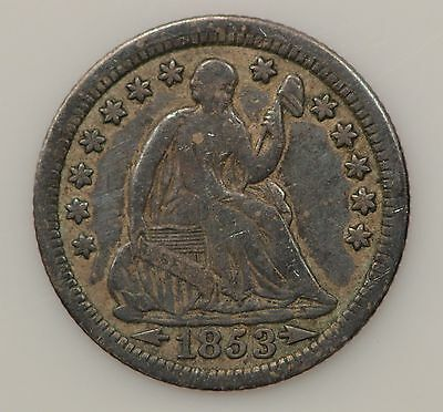 1853-P Seated Liberty Silver Half Dime *G82