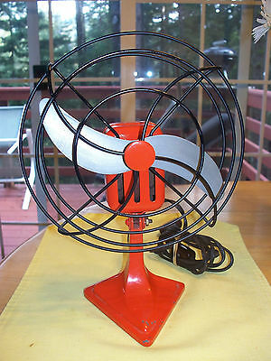 Table Top Vintage Electric Fan Brand Unknown