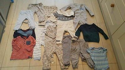 Baby boy bundle size 9-12 months