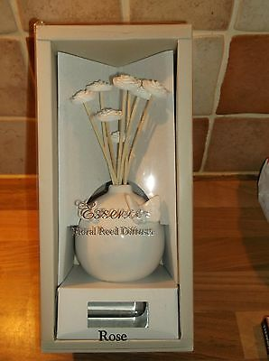 "Rose Fragrance  Reed Diffuser---"" Vase Of Flowers"""