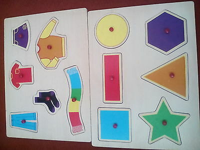 children puzzles x2 in great condition