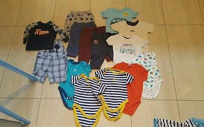 Baby boy bundle size 3-6 and 6-9 months