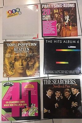 Job Lot Of Mixed Music Albums. LP Vinyl