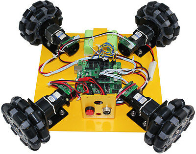4WD Omni-Directional Arduino Compatible Mobile Robot Kit