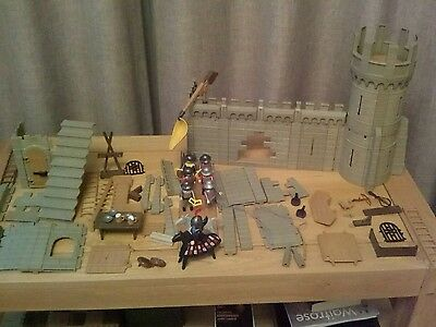 Playmobil castle with extras