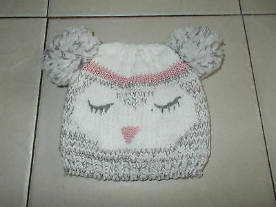 Girls Bobble Hat Age 7-10 Years