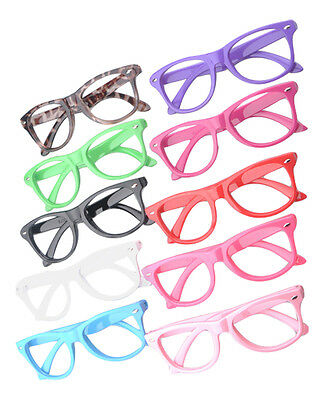 New Clear Classic Style Kids Costume Glasses Perfect for Parties Hipsters Nerd