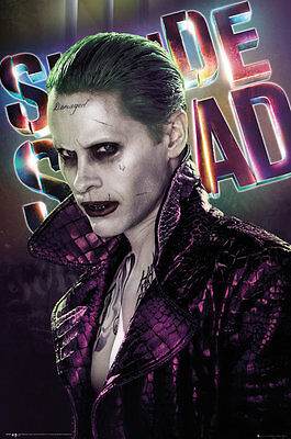 SUICIDE SQUAD Poster - JOKER - NEW SUICIDE SQUAD MOVIE POSTER FP4158